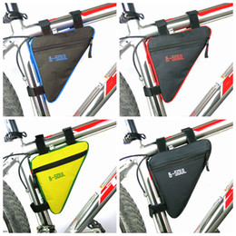 Tube fronT online shopping - Triangle Bike Bag Front Tube Frame Cycling Bicycle Bags Waterproof MTB Road Pouch Holder Saddle Bicicleta Bike Accessories ZZA991
