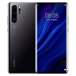 Wholesale New Original Huawei P30 P30 Pro Mobile Phone inch GB RAM GB ROM Support NM memory card OTG Dual SIM Card Smartphone