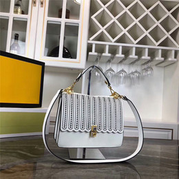 $enCountryForm.capitalKeyWord Australia - Top Quality Luxury Handbags Women Bags Design Fashion Brand F Shoulder Bag Ladies Crossbody Real Cow Leather Hollow Out Flap Bag 25cm F1983.