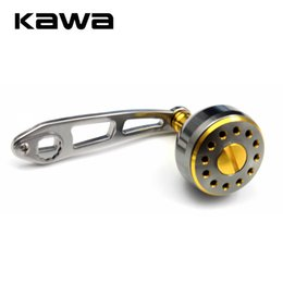 baiting suit Australia - Kawa Aluminum Alloy Fishing Reel Rocker Strong Durable Single Fishing Reel Handle Hole Size 8*5mm Suit for Abu and Daiwa Reel