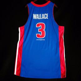 100% Costurado 3 # Ben Wallace Atacado costurado Jersey hoodies Mens Colete Tamanho XS-6XL Costurado basquete Jerseys Ncaa em Promoção