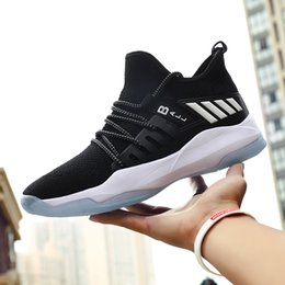 $enCountryForm.capitalKeyWord NZ - 2019 Luxury Designer Mens Shoes Brand Mens Basketball Shoes Mesh Breathable Sport Sneakers Shockproof Shoes Outdoor Tennis Trainers