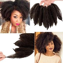 $enCountryForm.capitalKeyWord Australia - Afro Kinky Crocher Braids Beauty Marley Twist Braiding Hair Synthetic Afro Twist Braid Hair 3Packs Kinkys Hair for Braiding