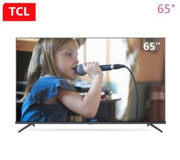 Inch Flat Panel Australia - TCL 65-inch AI intelligent star flat panel TV whole ecology HDR ultra hd 4K TV Q picture engine hot new product free shipping.
