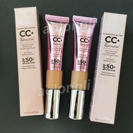 Venta al por mayor de Mejor maquillaje CC Crema de iluminación que su piel Pero crema Mejor Iluminación CC + 32 ml de líquido corrector facial completa cobertura media luz