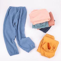 $enCountryForm.capitalKeyWord Australia - Infant Summer pants Simple Style Kids ankle length pants Good quality boys elastic pants Comfortable Girls bloomers