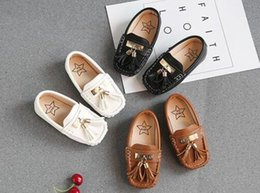 Kids Tassel Casual Shoes Boys Loafers PU Leather Girls Moccasins Baby Toddler Soft Comfortable Shoes