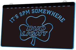 $enCountryForm.capitalKeyWord Canada - LS787-b-It-s-5-pm-Somewhere-Bud-Shamrock-Neon-Light-Sign.jpg Decor Free Shipping Dropshipping Wholesale 8 colors to choose