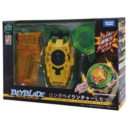 Big Christmas Gift Boxes NZ - Original Product New Beyblade Burst Z Bey Blade B-123 B-124 Launcher And Box Gifts For Christmas Kids Gift J190427