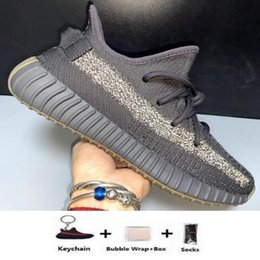 light womens running shoes Australia - Kanye West shoes Static Running Shoes New Israfil Cinder Desert Sage Earth Tail Light Zebra Womens Mens Trainers Sports Sneakers Size us 13