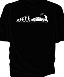classic car s 2019 - 'Evolution of Man' classic car 911 Funny free shipping Unisex Casual Tshirt top discount classic car s
