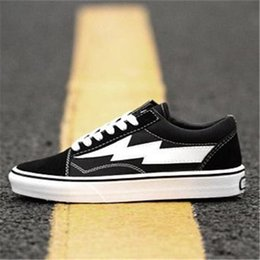 047e208ed0 2018 New REVENGE x STORM Old Skool Kanye Low Mens womens Canvas Shoes  Skateboarding Shoes fashion Casual Shoes running sneakers