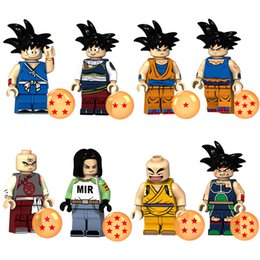 $enCountryForm.capitalKeyWord NZ - Educational Dragon Ball Z Super Saiyan Son Goku Vegeta Krillin Chiaotzu Tien Shinhan Bardock Mini Toy Figure Building Block Brick