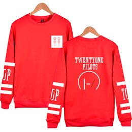 twenty one pilots hoodies NZ - 2019 Luckyfridayf Twenty One Pilots Hoodies Capless Men Brand Designer Mens Sweatshirt 21 Pilots Sweatshirt Men 'S Hooded Clothes