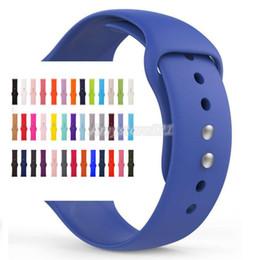 Опт Спортивный силиконовый ремешок для Apple Watch Series 4/3/2/1 Заменить ремешок для браслета ремешок для часов Watchstrap для apple watch 42мм 38мм