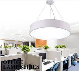 $enCountryForm.capitalKeyWord NZ - Round Pendant LED Chandelier office modern minimalist fashion study restaurant hanging line lighting lamps commercial lighting