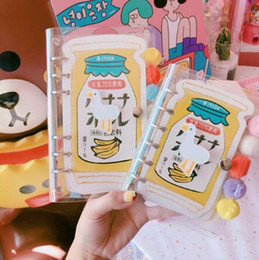 $enCountryForm.capitalKeyWord NZ - Cute girl heart creative portable hand book diary transparent notebook loose-leaf book coil creative student gift