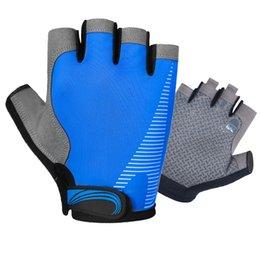 $enCountryForm.capitalKeyWord Australia - Half Finger Riding Gloves Non-slip Breathable Ice Silk Fitness Exercise Hiking Outdoor Training Gloves Men's Bicycle Riding