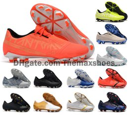 Venom shoes online shopping - 2020 Men Phantom Venom VNM Elite FG New Lights Under The Radar Soccer Football Shoes Boots Cleats Size US