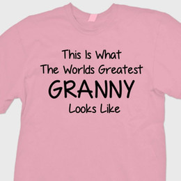 Grannies Gifts online shopping - WORLDS GREATEST GRANNY Gift Mamaw T shirt Grandma Loved Tee ShirtFunny