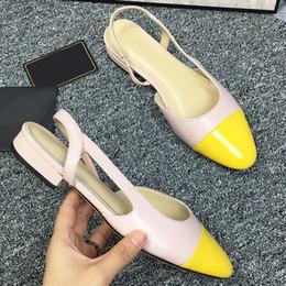 $enCountryForm.capitalKeyWord Australia - High quality ladies leather fashion womens sandals 19 brand fashion design womens shoes high heel design flat casual shoes with original qa