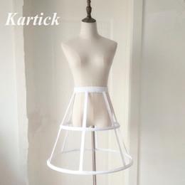 $enCountryForm.capitalKeyWord Australia - New Style Petticoats 2 Hoops Short Ruffle Underskirt Crinoline for Wedding Bride Formal Dress White Black Wedding