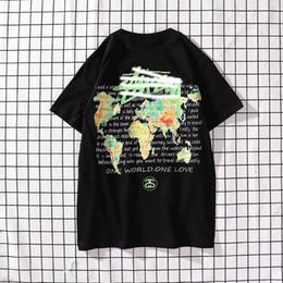 $enCountryForm.capitalKeyWord Canada - Men's fashion luxury Tshirt designer Stussts brand men's Tshirts world map color printing T-shirt high quality street hip hop T-shirts