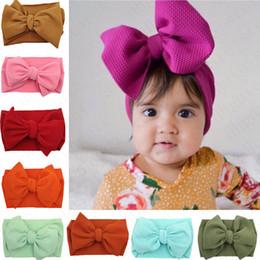20Pcs Newborn Toddler Vintage Baby Headbands Lot Elastic Hair bow HeaddreYJ