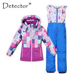 $enCountryForm.capitalKeyWord Australia - Detector Boy Girl Ski Suit Waterproof Windproof Hooded Jacket and Pant Thermal Little Kid Ski snowboard Bid Children Clothing