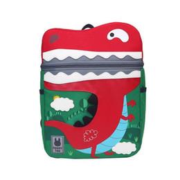 08470c045370 Cute Dinosaur Cartoon Schoolbag Bag Backpack Kindergarten Back Pack For Kid  Children Child School Students Bags Boys And Girls