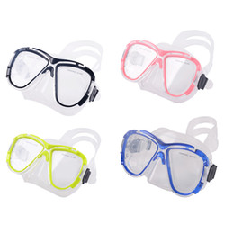 China Underwater Soft Tempered Glass Anti-Fog Mask For Scuba Diving Snorkeling Freediving Swimming Diving Surfing Water Sports cheap diving glass mask anti fog suppliers
