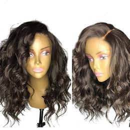 $enCountryForm.capitalKeyWord NZ - Malaysian Human Hair Swiss Lace Women Human Hair Full Lace Wig Brazilian 100% Virgin Wig Glueless Lace Front Wigs with Baby Hair