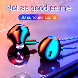Phone Types Australia - Explosion F10 headset in ear-type wire-controlled game mobile phone computer metal headset earplug Apple Android General
