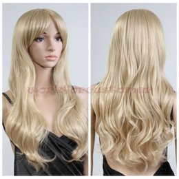 $enCountryForm.capitalKeyWord Australia - Wholesale price Hot Sell TSC^^^^^^^^Fashion Women Sexy Hair Long Wigs Wavy Cosplay Party Wig Full Blonde New