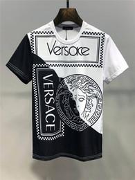 Drying t shirt online shopping - 2019 Summer New Arrival Top Quality Designer Clothing Men s Fashion T Shirts Medusa Print Tees Size M XL