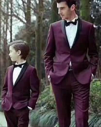 $enCountryForm.capitalKeyWord Australia - Custom Made Groom Wedding Tuxedos 2019 Groomsmen Slim Fit Best Man Suit Wedding Prom Mens Suits Bridegroom (Jacket+Pants+Bow)