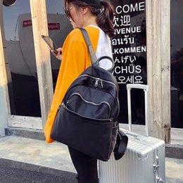 Woman Fans Australia - Best2019 Wolf Fan Rabbit House Both Shoulders Package Woman Oxford Cloth With Leather A Bag Will Capacity Travel Backpack