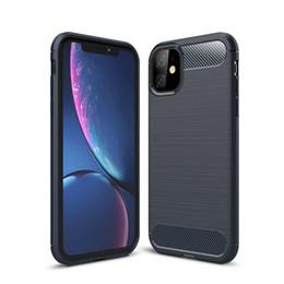 Fibra de Carbono para o iPhone 11 12 Pro Mini X Xr Xs Max 6 6S 7 8 Plus tampa do telefone para Samsung S20 Ultra S10 S10e S9 Além disso S8 Nota 20 10 9 8 em Promoção
