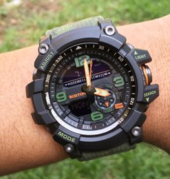 Out digital online shopping - G Style Wrist Watches Compass Thermometer Out Door Sport Men Watches High imitation Multifunctional rubber luxury brand watch