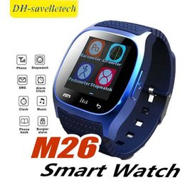 $enCountryForm.capitalKeyWord Australia - M26 Bluetooth Smart Watches M26 for iPhone 6 6S Samsung S5 S4 Note 3 HTC Android Phone Smartwatch for Men Women Factory Price