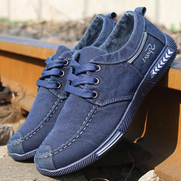 $enCountryForm.capitalKeyWord NZ - Merkmak Canvas Men Shoes Denim Lace-Up Men Casual Shoes New 2018 Plimsolls Breathable Male Footwear Spring Autumn Footwear