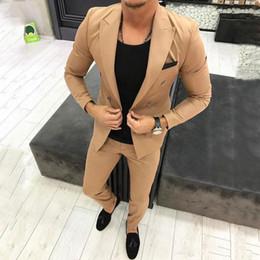 $enCountryForm.capitalKeyWord NZ - Popular Double-Breasted Groomsmen Peak Lapel (Jacket+Pants+Tie) Groom Tuxedos Groomsmen Best Man Suit Mens Wedding Suits Bridegroom b141