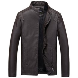 korean slim men s clothing UK - 2019 Autumn Clothing New Products Men'S Wear Leather Jacket Men's Korean-style Slim Fit Brand Men'S Wear Leather Jacket Young ME