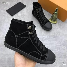 $enCountryForm.capitalKeyWord Canada - France famous design High top womens Flats Genuine Leather Lace Up Casual Shoes Trend Luxury Platforms Denim Breathable women shoes