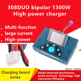 Discount fpv planes rc 308DUO 308 DUO 2*8S 30A 1300W Dual Port Battery Charger Discharger For FPV Drone RC Plane LiPo Lilo LiFe NiZn NiMH NiCd