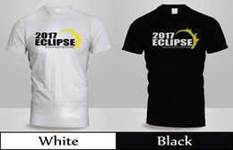 white unisex tshirt Australia - New 2017 Solar Eclipse With Your City, State T-Shirt Mens Back&White Shirt 3Funny free shipping Unisex Casual Tshirt top
