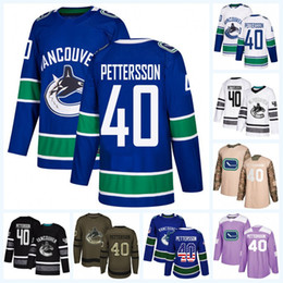 20faa2cb034 40 Elias Pettersson Vancouver Canucks 2019 All-Star Game Camo Veterans Day  Purple Fights Cancer Salute to Service USA Flag Stitched Jersey