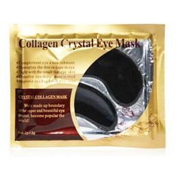 $enCountryForm.capitalKeyWord Australia - 2Pcs 1Pair Black Crystal Collagen Eye Mask Sleep Eye Patches Dark Circles Remove Ageless Moisturizing Gel Mask for Eyes Ageless
