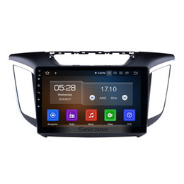 hyundai ix35 gps android 2019 - Quad-core Android 9.0 10.1 Inch Car GPS Navigation Radio for 2014 2015 HYUNDAI IX25 Creta with AUX Bluetooth USB support