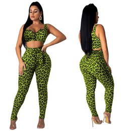 $enCountryForm.capitalKeyWord NZ - Spot real shot 3056 designer ladies Europe and the United States explosion models fashion sexy leopard two-piece